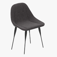 siglo moderno fency chair 3d max