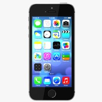 3d iphone 5s gray