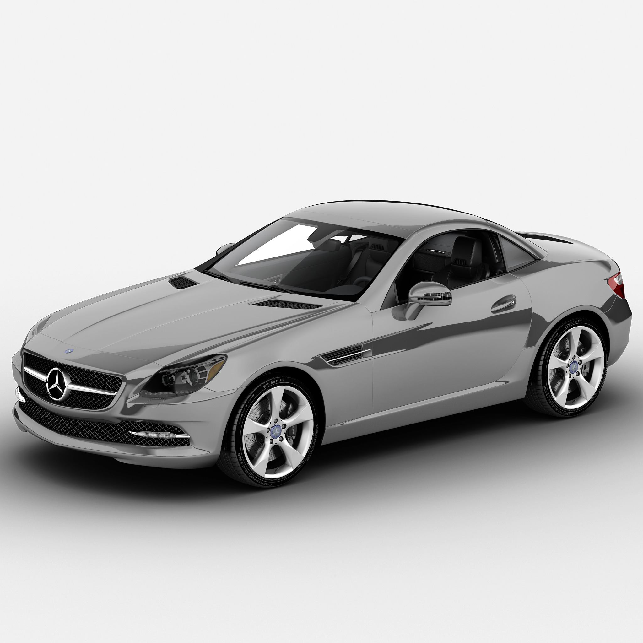 Mercedes Benz SLK Coupe 2013 Rigged_1.jpg