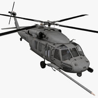 HH-60 Pave Hawk Rigged