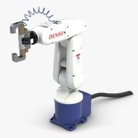 3dsmax robot arm denso 1