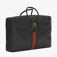 3d model gucci luggage