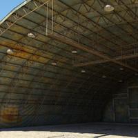 Hangar Military Old