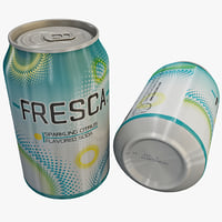 fresca soft drink 3d 3ds
