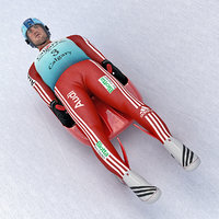 Luge Player
