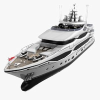 3d christensen luxury yacht 43 model