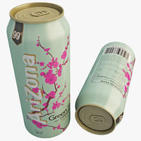 3d model of arizona iced tea