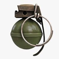 v40 grenade 2 3d max