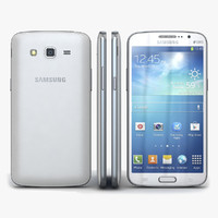 3d model samsung galaxy grand 2