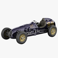 Kurtis Kraft 4000 Vintage Racing Car