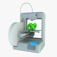 cube printer 3d obj