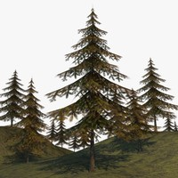 obj forest environment asset
