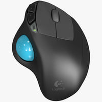 3d logitech m570 wireless trackball