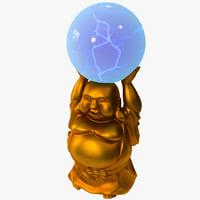 3dsmax lumisource buddha electra lamp
