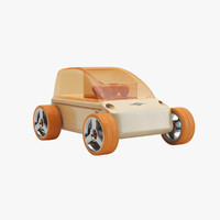 3d model - automoblox a9 city car
