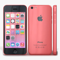 3d apple iphone 5c pink