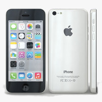 maya apple iphone 5c white