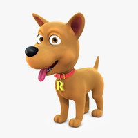 Cartoon Dog Character Rex