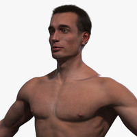 3d male body - adam model