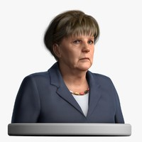 cinema4d angela merkel