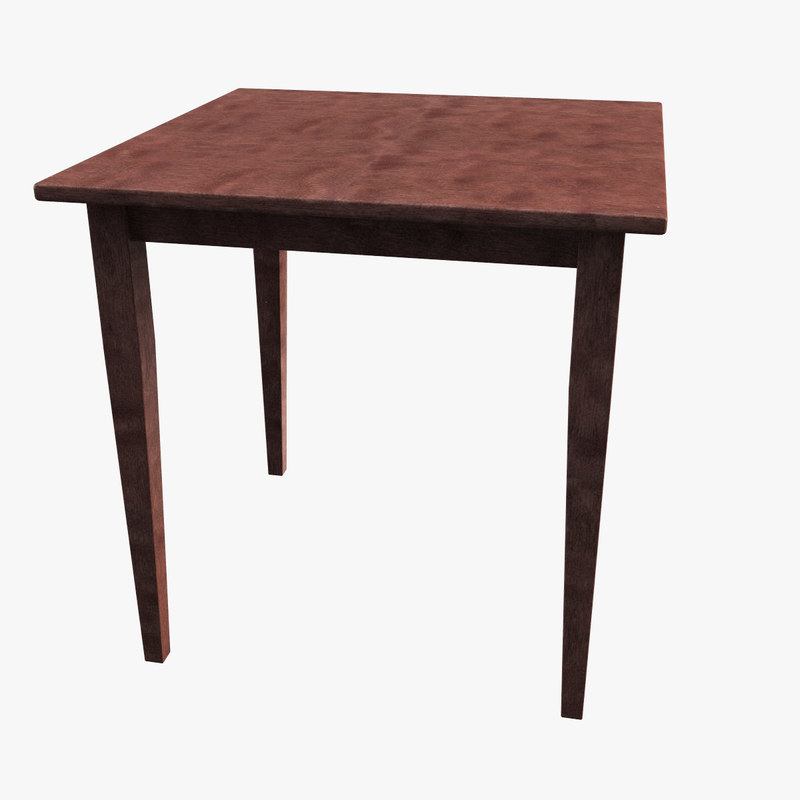 Max winsome wood square dining table for New model wooden dining table