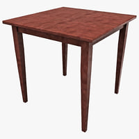 maya winsome wood square dining table