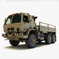 3d oshkosh fmtv 6x6 m1083 model