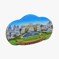 maya madrid spain magnet souvenir