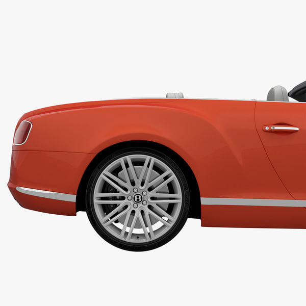 Bentley Continental Gt 2014 3d Model