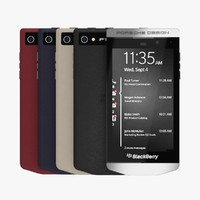 3d blackberry porsche design p9982 model