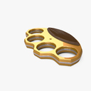 Brass Knuckles 3D models