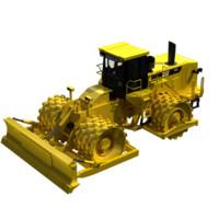 3d model 825h 825 soil