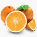 Orange fruit 3D models
