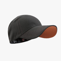 - cap black orange max