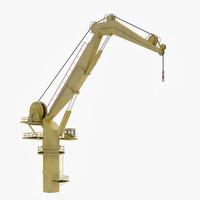 knuckleboom crane rigged max