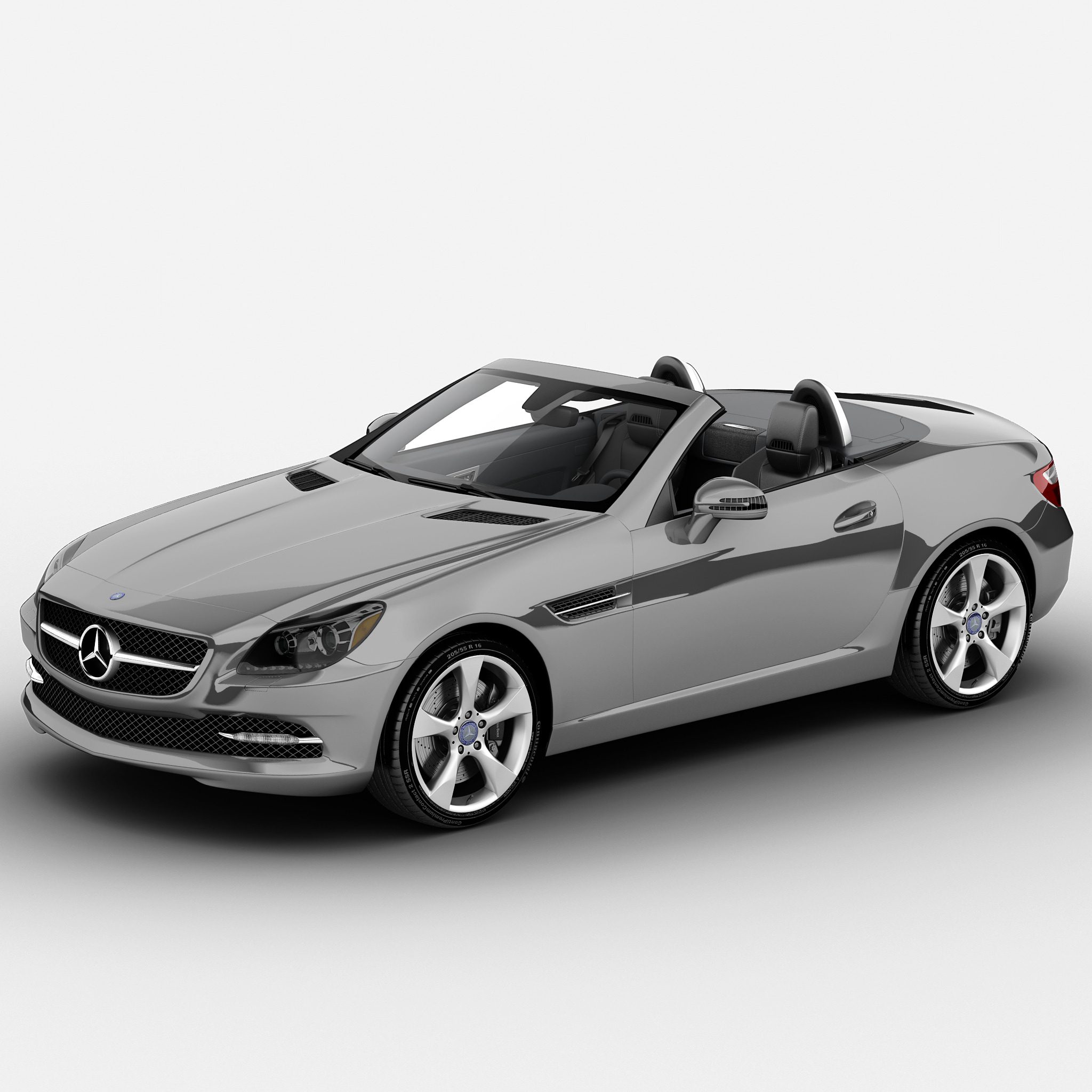 3dsmax mercedes benz slk roadster. Black Bedroom Furniture Sets. Home Design Ideas