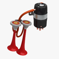 Car Air Horn - Fiamm Roadmaster