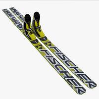 3d ski jumping model
