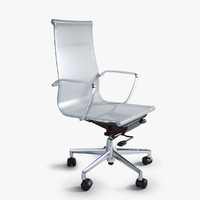 3d model eames office mesh chair