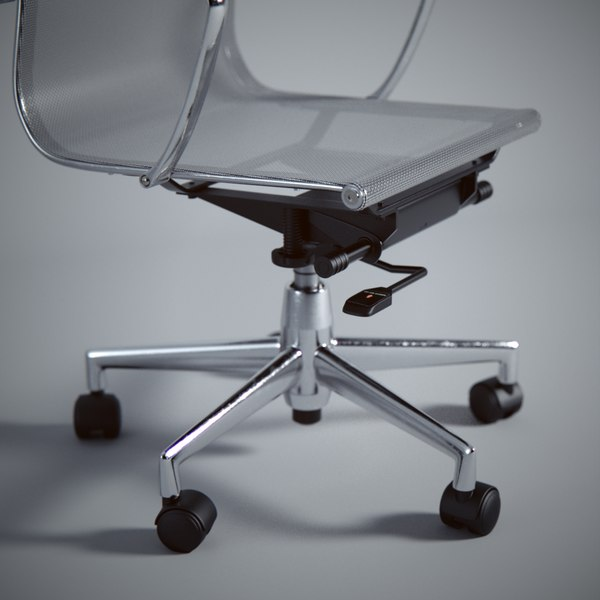 3d model eames office mesh chair for Icon mobel eames