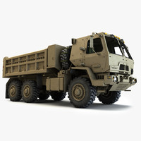 max oshkosh fmtv dump truck