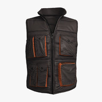 qualitative freestyle gilet 3d model