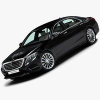 2014 mercedes-benz s-class 3d 3ds