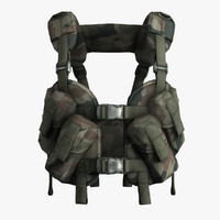 3d army tactical vest otter