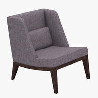 east wormley chair 3d dwg