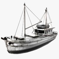 3ds max roberta ship boat