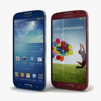 Samsung I9506 Galaxy S4 Blue & Red