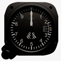 air craft altimeter instrument max