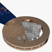 Olympic Bronze Medal Sochi 20