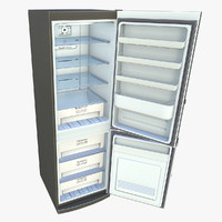 3d model ready refrigerator games